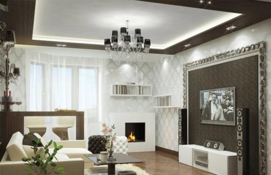 Lampu hias gantung untuk ruang tamu modern