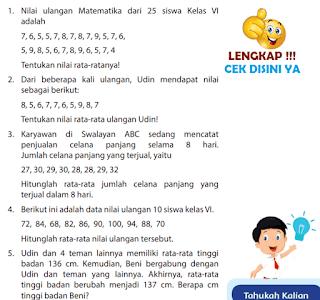 Kunci Jawaban Halaman 183 Buku Senang Belajar Matematika Kelas 6 www.simplenews.me