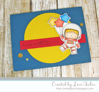I'm Over the Moon for You card-designed by Lori Tecler/Inking Aloud-stamps and dies from My Favorite Things