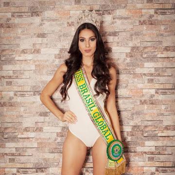 Barbara Vitorelli disputa o Miss Global 2017, no Camboja