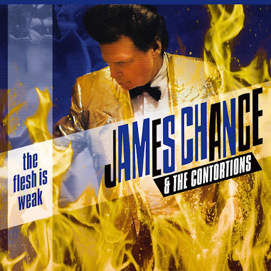 The Flesh Is Weak by James Chance now available on Vinyl!