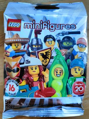 Sobre minifigura lego serie 10 años