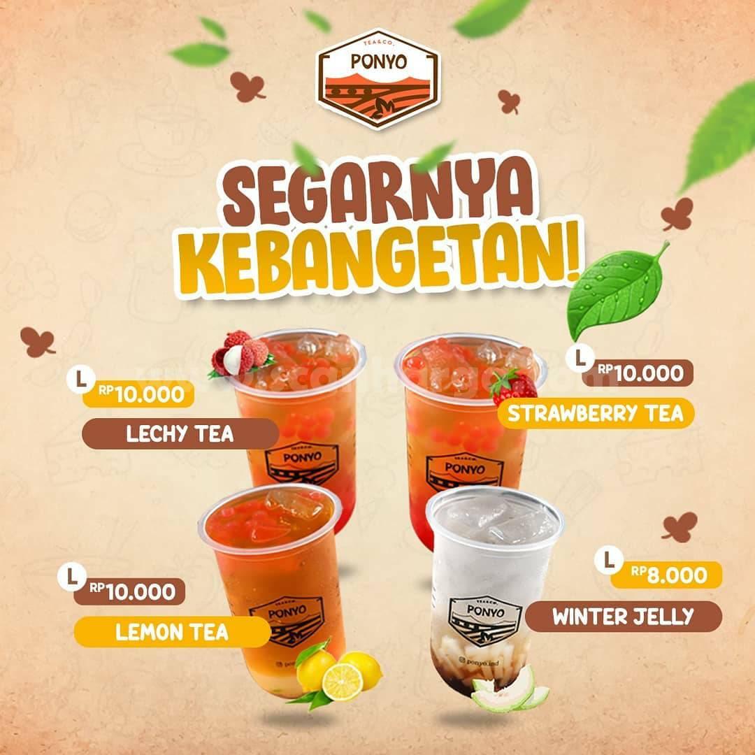 PONYO Promo Minuman SEGAR Harga Mulai Dari Rp 8.000,-