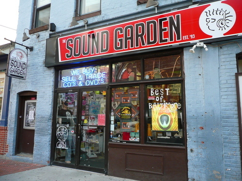 the sound garden video game store