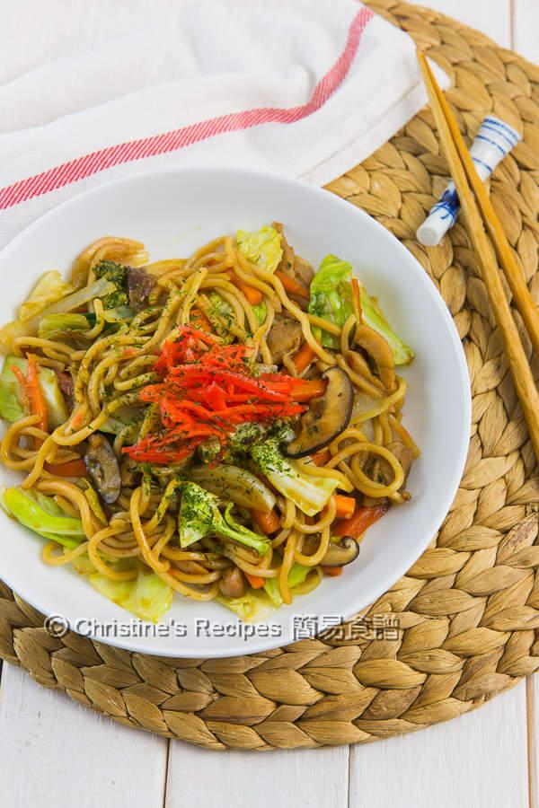 Yakisoba (Japanese Stir Fry Noodles)01