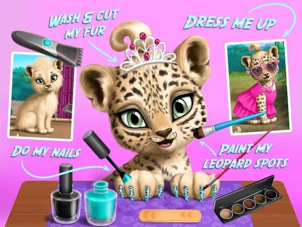 Jungle Animal Hair Salon Apk Mod Money/Unlocked/Ad-Free