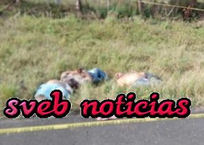 Identifican los 5 cuerpos hallados ejecutados en carretera La Tinaja-Cosoleacaque