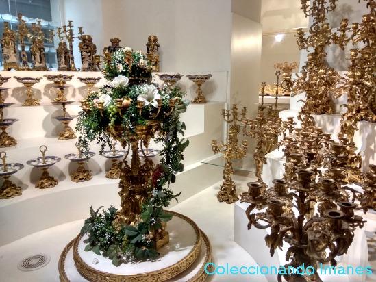 Colección de vajilla imperial austriaca en Viena