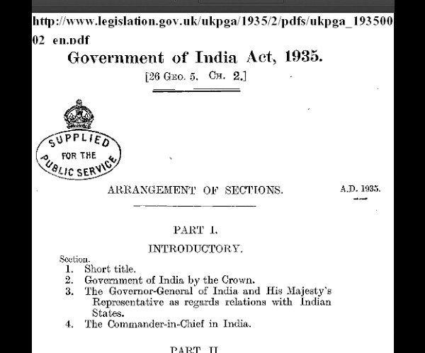 act 1935, hotfoot