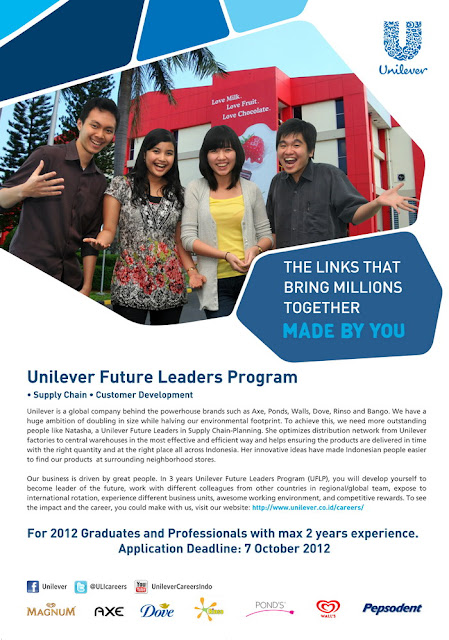 Unilever Future Leaders Program 2012
