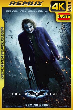 Batman: El caballero de la noche (2008) 4k BDRemux HDR Latino – Ingles