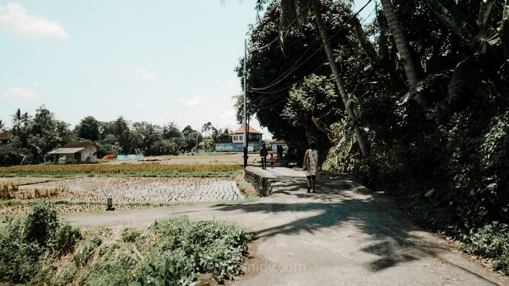 cara menuju ke warung mek juwel ubud