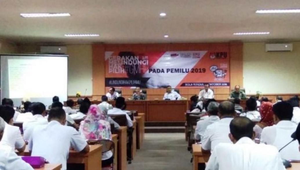 GMHP, Wakil Bupati Himbau Warga Tangerang Cek Data Pemilih