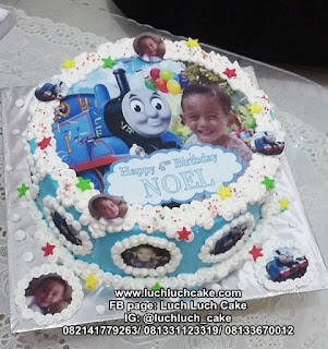 Edible Image Kereta Thomas dan The Birthday Boy