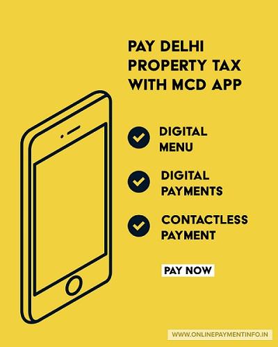 delhi mcd property tax payment