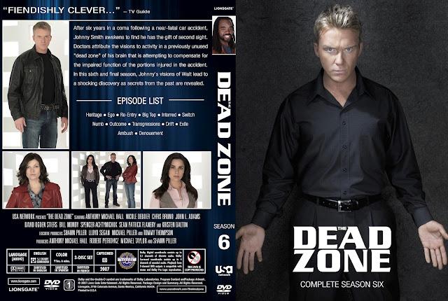 Dead Zone Season 6 DVD Cover