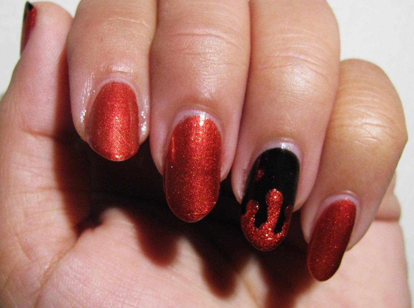 The Super Secret Nail Blog: Easy Halloween Nail Art ...