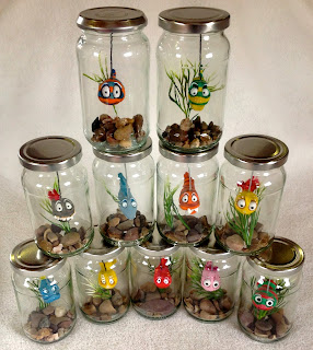 Fish in a Jar collection - gift