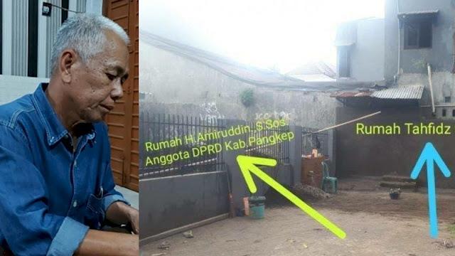 Anggota DPRD Pangkep Bantah Tutup Jalan Rumah Tahfiz, Sebut Tembok Sudah Ada Sejak Dulu