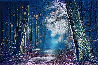 Entrada a un bosque