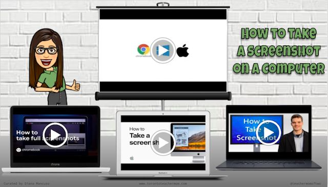Video Tutorials on How to Take a Screenshot