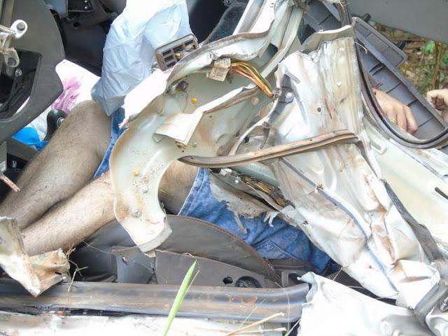 Grave acidente entre carreta e carro na BR 364 mata uma pessoa e deixa, duas crianças em estado grave