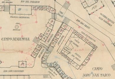Mappa del parco a tema veneziano situato a Vienna