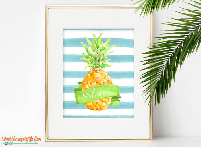 Free Pineapple Printable Designs