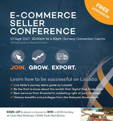 Lazada E-Commerce Seller Conference Free Registration