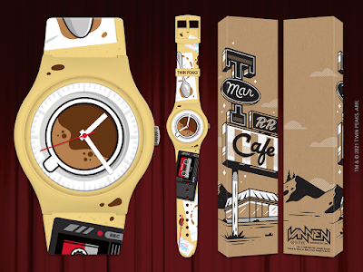 Twin Peaks Limited Edition Watch Collection by Vannen Watches x Corey Reifinger