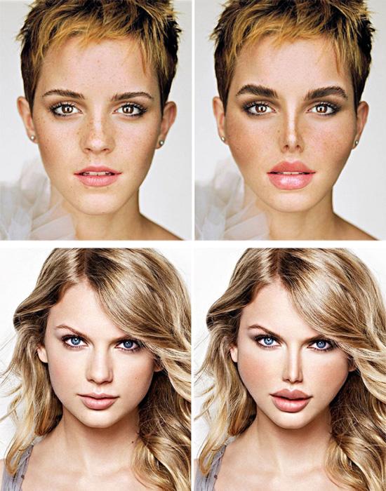 Plásticas - Emma Watson e Taylor Swift