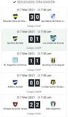Liga Deportiva del Sur - resultados de la segunda fecha