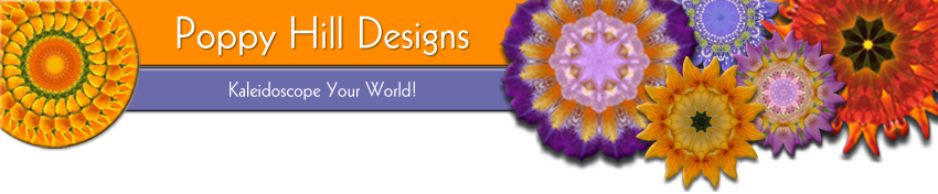 Poppy Hill Designs, Kaleidoscope Your World!