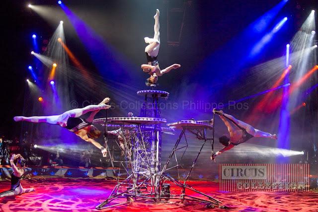 numéro du cirque chinois