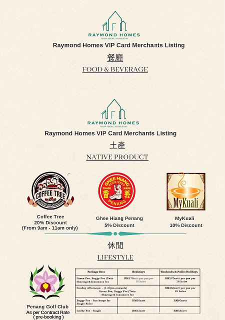 Raymond Homes - Best Homestay in Penang with Exclusive VIP Discount Benefits