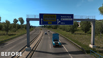 ets 2 realistic signs v1.1 screenshots 7