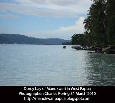 Snorkeling with Charles Roring in West Papua