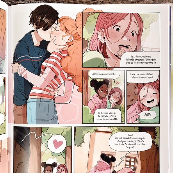 Cœur collège Tome 1 - Secrets d'amour