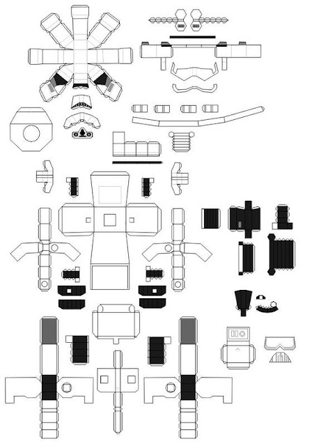 Demon-Works: Papercraft Template Collection