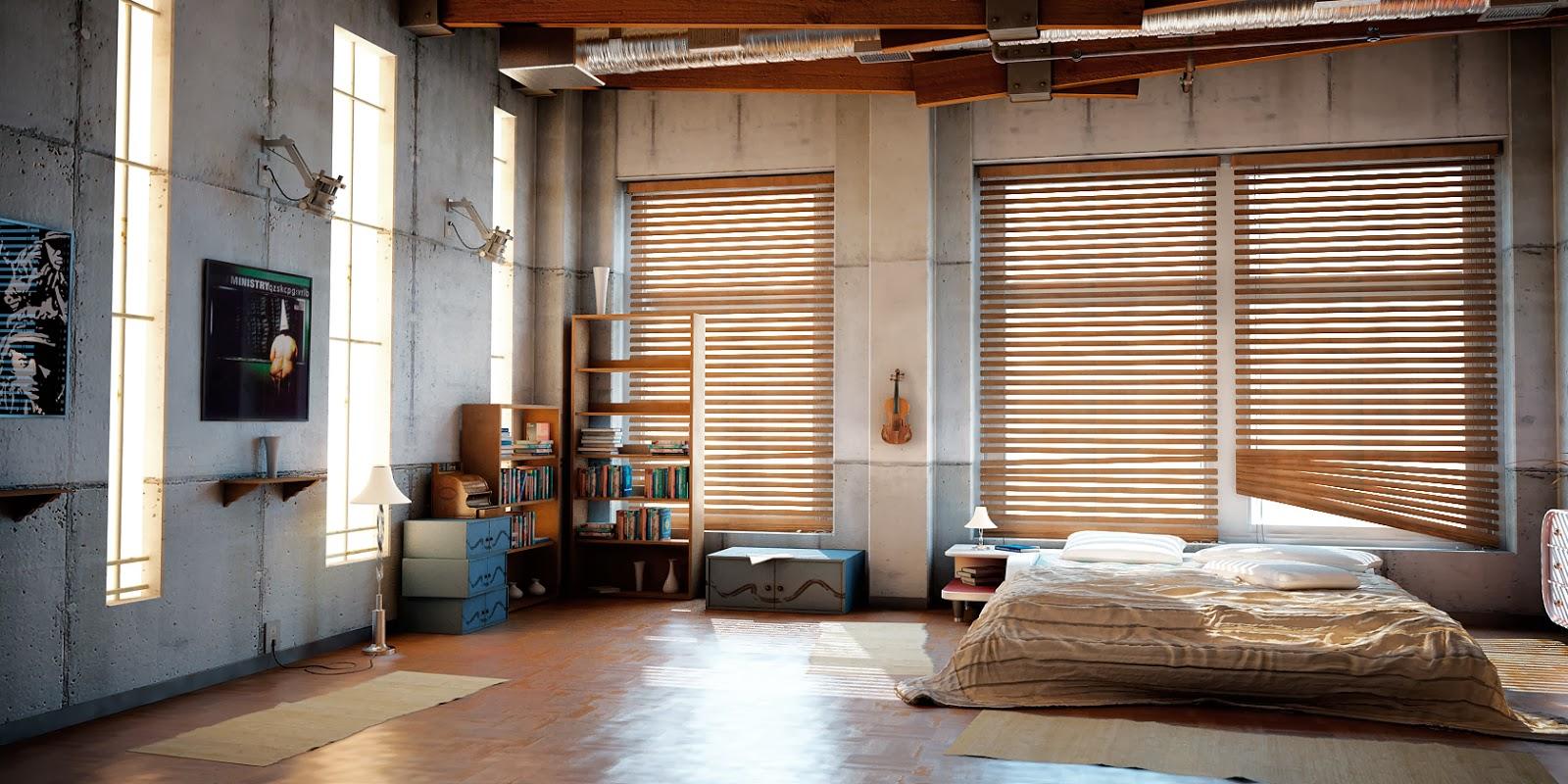 milalook styl industrialny. Black Bedroom Furniture Sets. Home Design Ideas