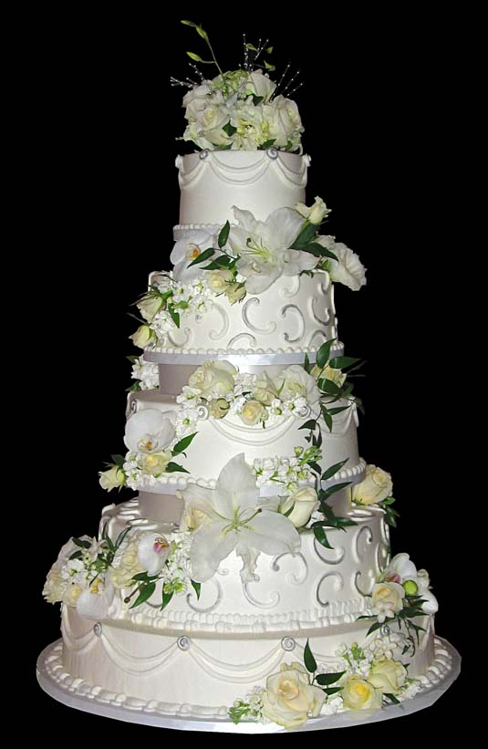 Wedding Cakes With Steps