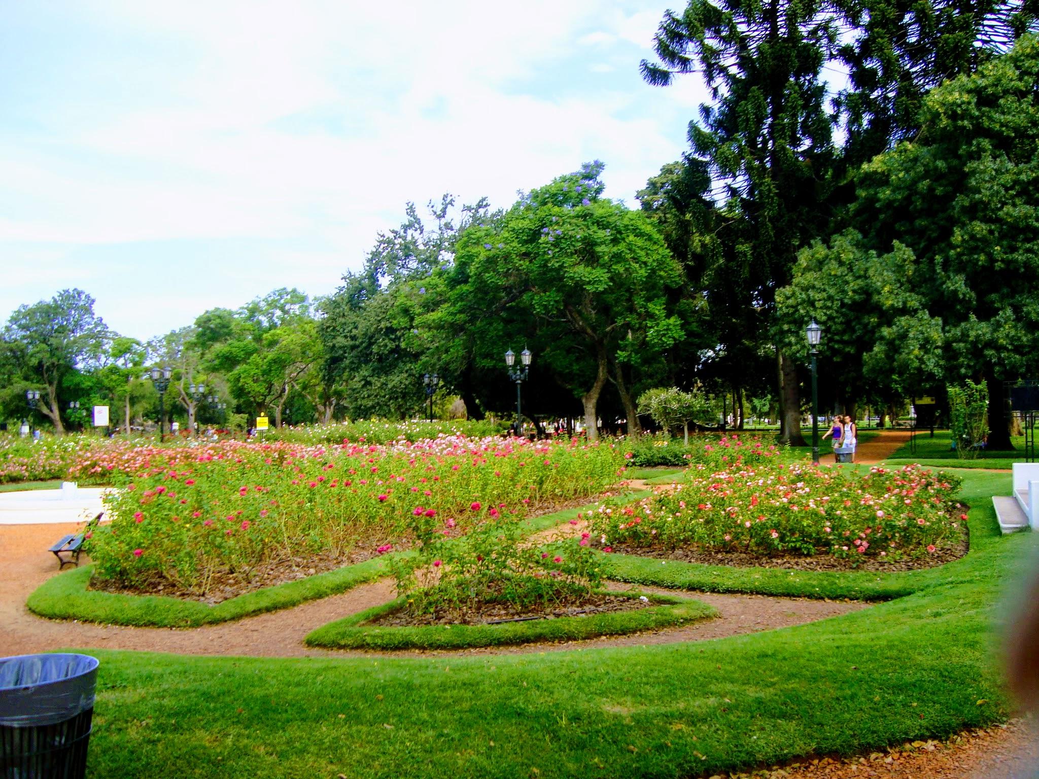 El Rosedal - um belo jardim de Buenos Aires