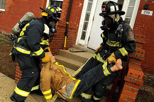 IMCOM Simulated Fire Exercise