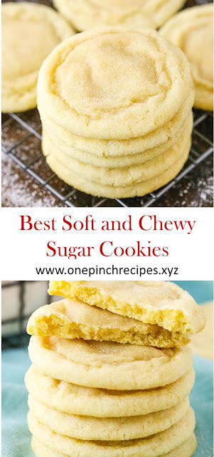 Best Soft and Chewy Sugar Cookies #Best #Soft #Chewy #Sugar #Cookies