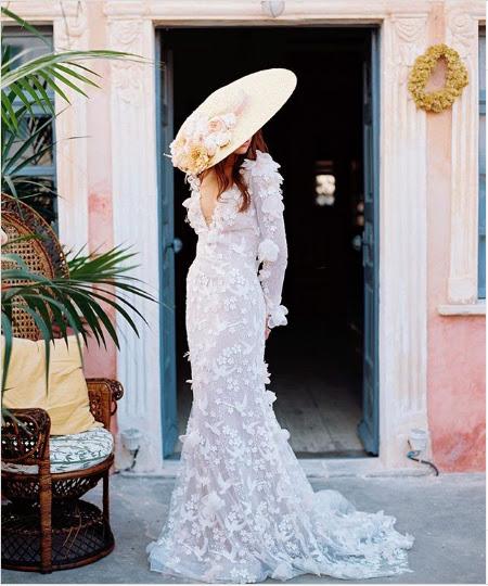 Boda en Playa, Sombreros para novia, Bodas Huatulco