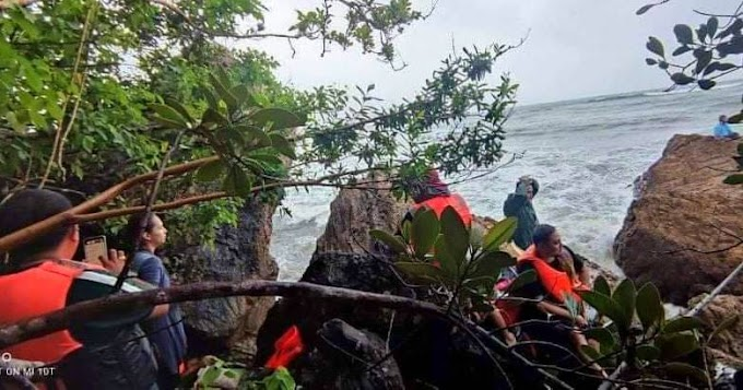 HRH nurses and midwife, 2 others rescued from capsized boat in Albay
