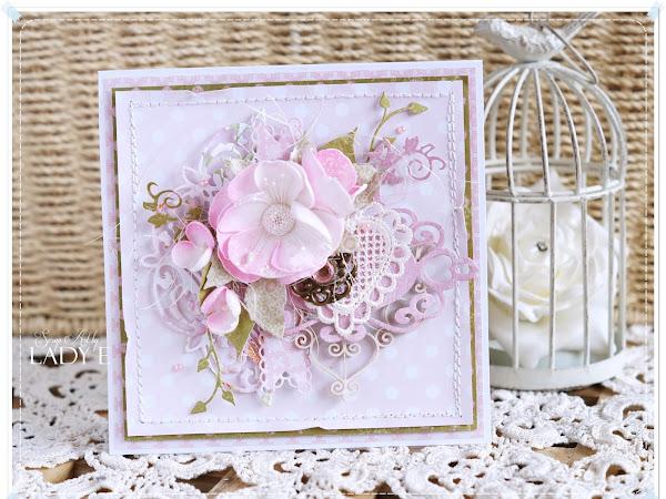 Romantic in Pink & New Flowers / Romantycznie różowo i nowe kwiatki