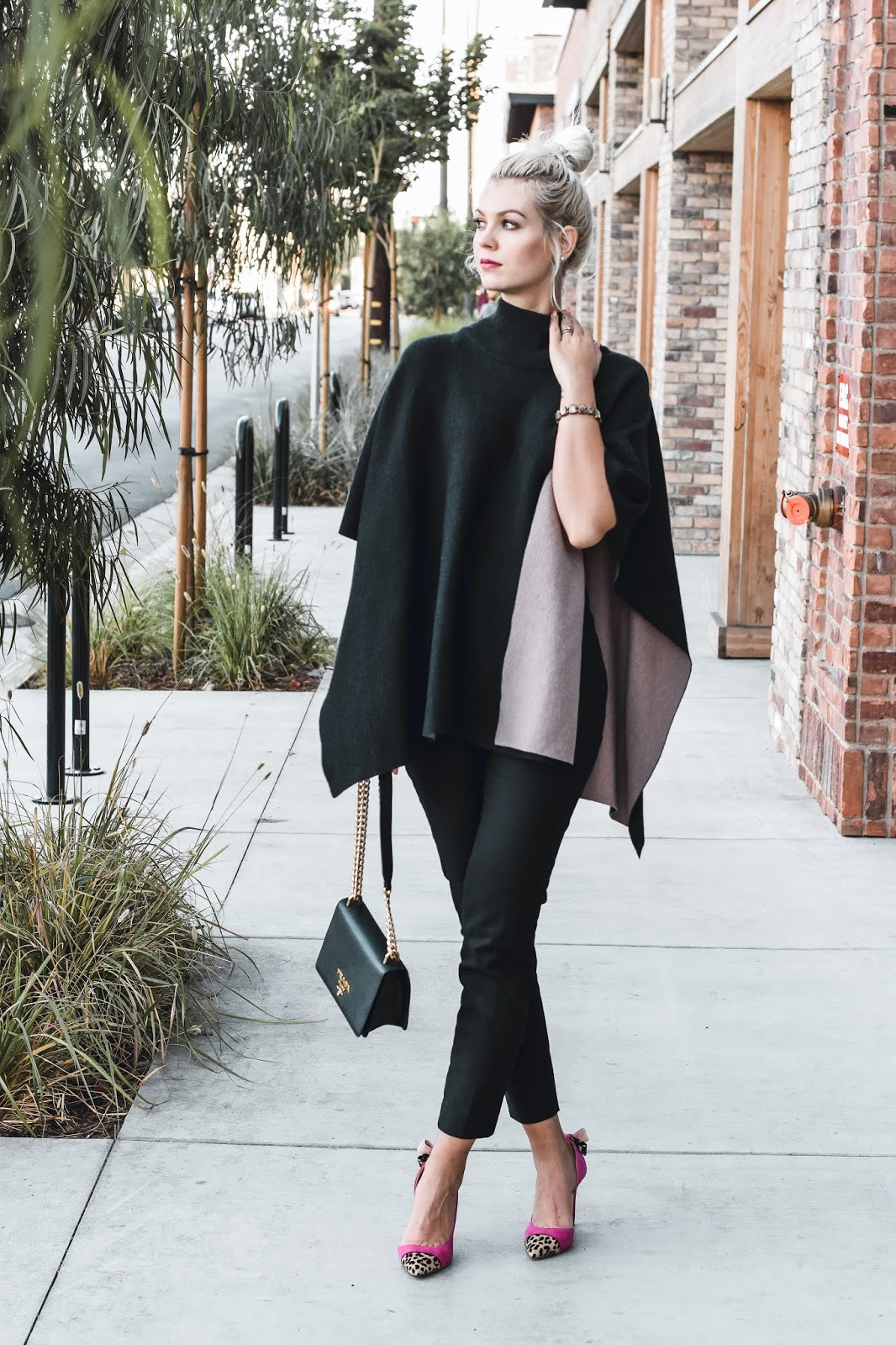 two sided poncho