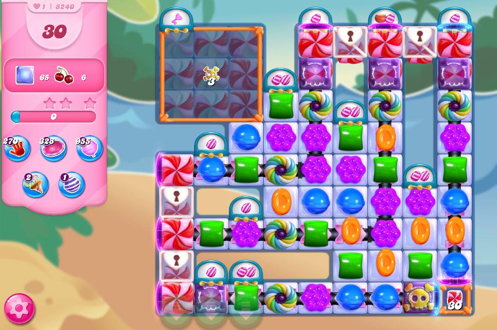 Candy Crush Saga level 8240