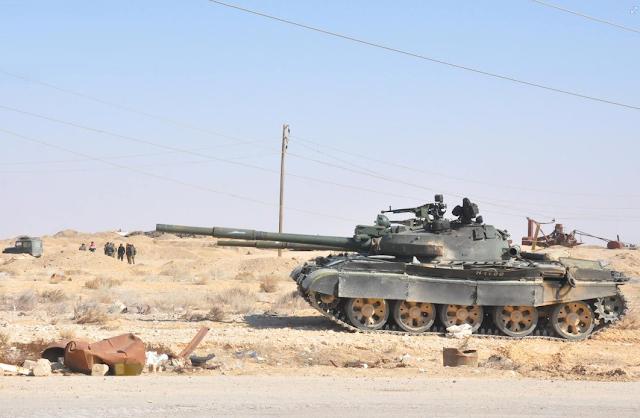 الجيش العربي السوري يتسلم دفعة من دبابات T-62M ومركبات مشاة قتالية BMP-1 - صفحة 2 322